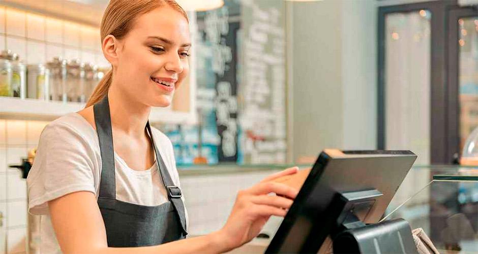 cashier's job